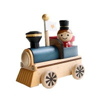 [WOODERFUL LIFE] LITTLE TRAIN WOODEN CONTAINER