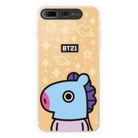 BT21 iPhone8 Plus /7 Plus 망 미러 라이팅 케이스 (Hybrid)
