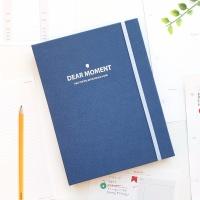 DEAR MOMENT 3공 다이어리 커버(A5)-팬톤 클래식블루