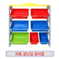 [무료배송][베이비캠프]장난감과 의류 대형 3단 정리대