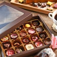 초콜릿 만들기 세트 (20구) - 브라운 사각