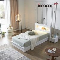 [이노센트] 리브 루아스 LED 평상형 침대 SS