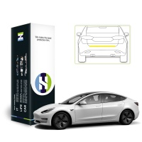 테슬라 모델 3 자동차용품 PPF 필름 트렁크리드 1매