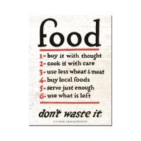노스텔직아트[14353] Food Don't Waste It