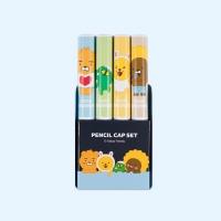 리틀 4본 연필캡세트(세트A)3843