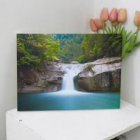 pj607-캔버스액자33.4x24.2_아름다운폭포풍경