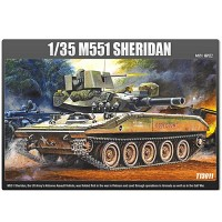 (아카데미과학-ACT13011) 1/35 M551 쉐리단 탱크 프라모델