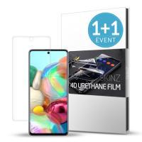 스킨즈 갤럭시A퀀텀 5G 우레탄 풀커버 액정 필름 2매