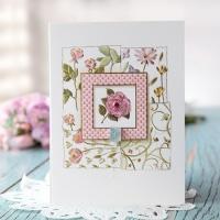 데이지 꽃 카드 FT1036-2