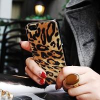 아이폰5/5S 게이즈(GAZE) 백커버 송치 레오파드