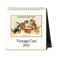 2021년 데스크캘린더 Vintage Cats