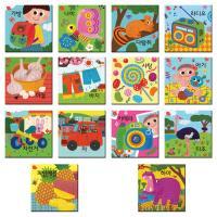 9 16조각 판퍼즐 - 아기지능방 한글 (14종)