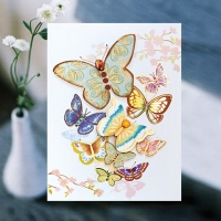 꽃나비 축하카드 FT1038-1