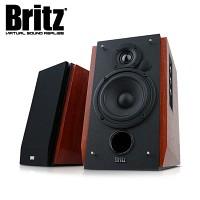 [브리츠]  2채널 블루투스 스피커 BR-1700BT (듀얼 RCA 입력단자 / 4핀 케이블 단자 연결 / 무선리모컨 / 트레블 & 베이스 음색 조절 / 전면 에이덕트)