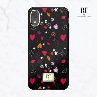 RF by 리치몬드&핀치 아이폰XR케이스 하트앤키스