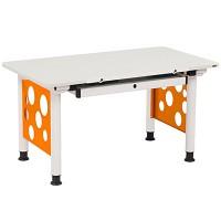 [까쁘레띠]오르그(orgoo)오르그 오렌지 기본형 책상