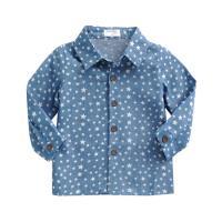 [엠엘스토리] 별이톡톡 데님 유아셔츠