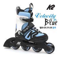 K2 정품 19년 벨로시티블루 5단계조절 아동용 인라인