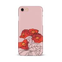 슬림 하드케이스 - 동백꽃 핑크