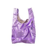 [바쿠백] 휴대용 장바구니 시장가방 Lilac Metallic