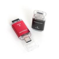 [무료배송][메모렛] C타입 MicroSD카드 리더기 MI-CR004 256G 지원