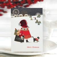 FS1029-5 크리스마스카드,트리,산타,성탄절