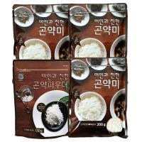 [패키지]곤약쌀200g 3봉 곤약파우더150g 1봉