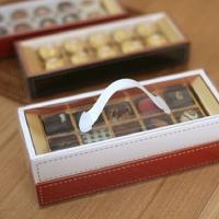 초콜릿상자 (스티치2단)-금박간지포함(레드&블랙)
