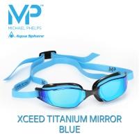 MP 마이클펠프스 엑시드 티타늄블루미러 BLUE & BLACK