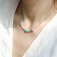 i_n42 Turquoise ball necklace