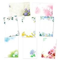 캘리그림엽서 꽃 8종(10장)