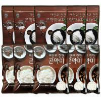 [패키지]곤약쌀200g 5봉 곤약파우더150g 5봉