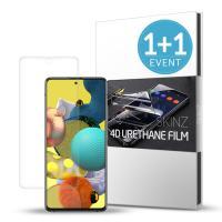 스킨즈 갤럭시A51 5G 우레탄 풀커버 액정 필름 2매