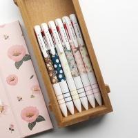핑크풋 꽃길 3색 볼펜(0.7mm)