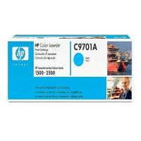 HP C9701A 정품토너 / CLJ1500, CLJ2500 Cyan (4,000 Page)