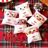 크리스마스 선물 포장지 (30개입) 산타
