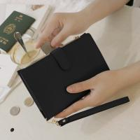 D.LAB DH88 (안티스키밍) Passport Wallet -Black