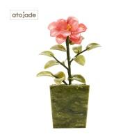 아토제이드 천연 옥플라워 포인트 원플라워 AJFL1702