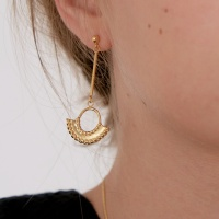 arch drop earring