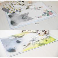 [헬스피아] 3D메쉬 유아용 동물 쿨매트 120x80cm