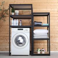 철제 조립식 세탁기 선반 800x600 높이1800 3단