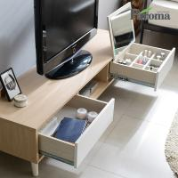 파로마 루나 1500 좌식화장대 거실장 (거울포함) WI30
