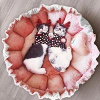 [봉봉펫닷컴] 강아지 고양이 윙클 방석