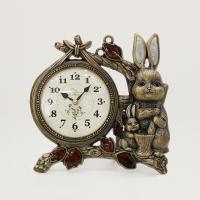 (kspz341)저소음 토끼시계 골드 (벽/탁상 겸용)