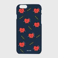 [어프어프] 하드/터프/슬라이드 Pattern heart-navy