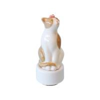 벚꽃고양이 오르골 베이지 - 천공의 성 라퓨타