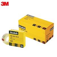 3M 스카치 투명양면테이프 리필 오피스팩 665R-6 18mm