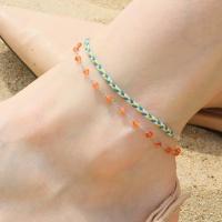 i_10- orange _ blue antlets