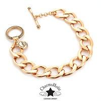 [참스홀릭] luxury gold bracelet ckb 103 참 전용 팔찌