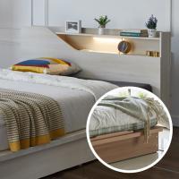 평상형 DM118 침대 Q LED조명